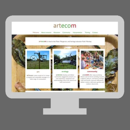 freelance web design bridport dorset axminster devon michelle abadie