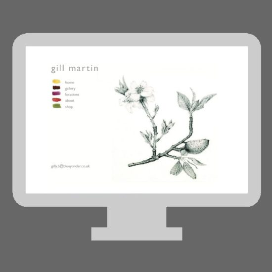 gill martin illustration web design by michelle abadie axminster